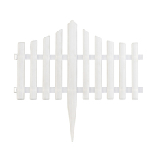 Verwijderbare tuin grens decoratieve witte <span class=keywords><strong>plastic</strong></span> <span class=keywords><strong>hek</strong></span>