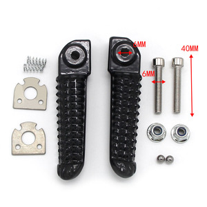 Motorcycle Rear Footrest Foot pegs For Yamaha 5JJ-27441-00 R 5JJ-27441-10 5JJ-27431-00 L 5JJ-27431-10 YZF R1 R1M RaceBase R1S