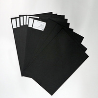 Thick black cardboard 2mm paper board sheets