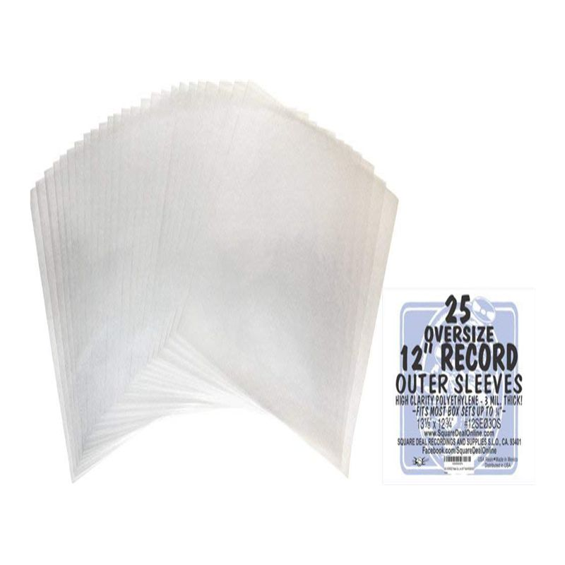 3 Mil LDPE LP Cover No-sealed Plastic 12