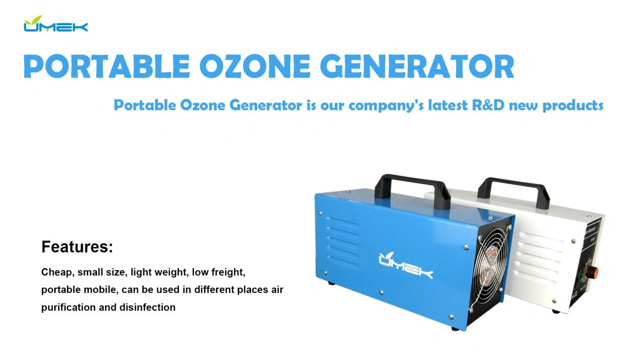 Thuis Draagbare Min Ozon Generatoren Desinfectie Luchtreiniger