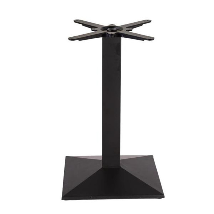 Hot Sale Adjustable  Square Powder Coated Table Base for Dining Table