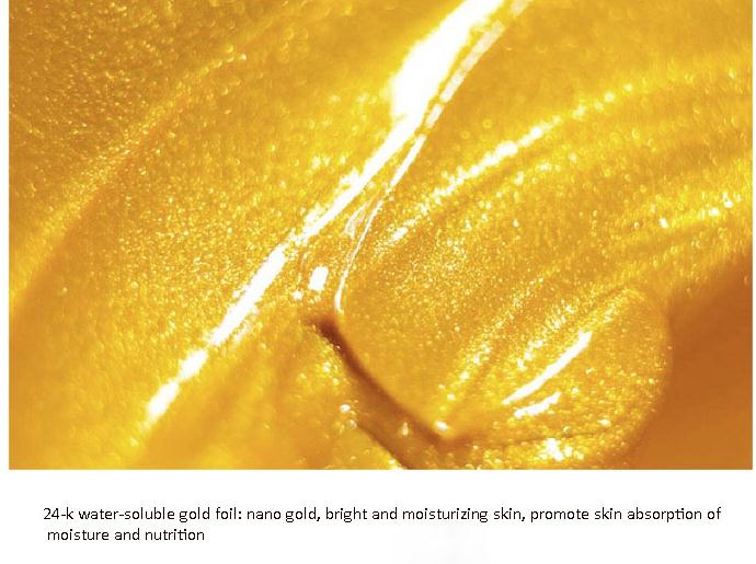 Private label CINDYNAK 24k gold collagen crystal Anti-wrinkle face mask