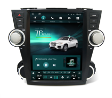 <span class=keywords><strong>Kaier</strong></span> tesla stil android 1 din auto dvd player multimedia für toyota Highlander auto audio video radio gps navigation carplay 4G