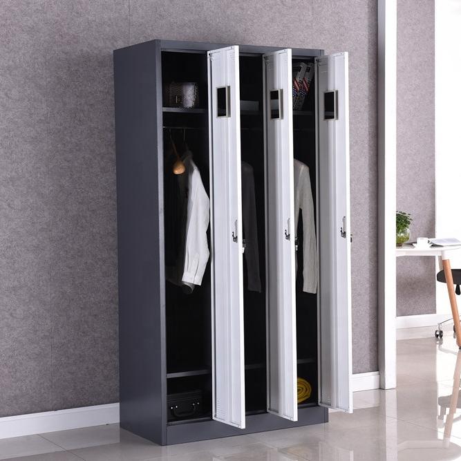 Pakistan Excellent Workmanship double door Bedroom Metal Wardrobe