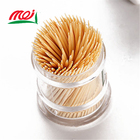 Packaging Customization [ Toothpick ] Toothpick Factory China Factory Supply Bamboo Eco-Friendly Food Grade Personalize Thin Toothpick