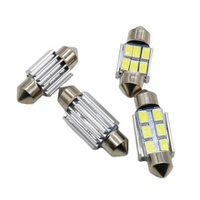 UNJOYLIOD T10 36MM 6LED 3030 Carro lâmpadas LED <span class=keywords><strong>SMD</strong></span> CANBUS Festoon LED Light Reading 31 39 41 mm