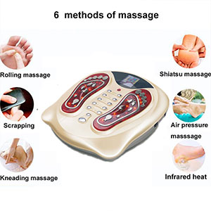 Acupuncture Leg Feet Spa Massage Pedicure Reflexology Blood Circulation Electric Foot Massage Machine