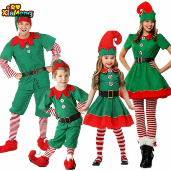 209 Halloween costumes children and men and women Christmas costumes show Christmas cosplay parent-child costume party costumes