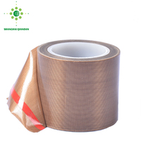 Non Stick Skive Teflon Coated Fiberglass Fabric Tape High Temperature