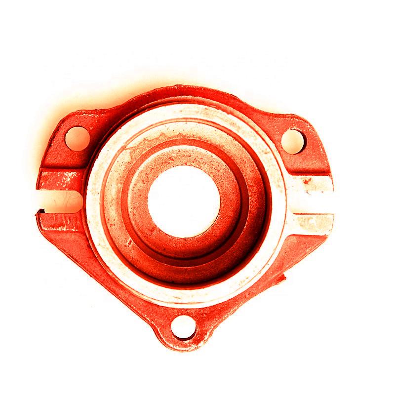 Hot sale casting iron bearing seat set shaft block  for baler machinery parts