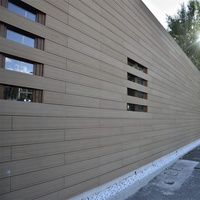 wholesale outdoor waterproof wall panels wood composite exterior cladding