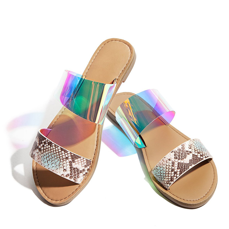 2020 New Women <strong>Sandals</strong> Summer Arrival Europe And America Clear Jelly Slides <strong>Sandals</strong> For Womens