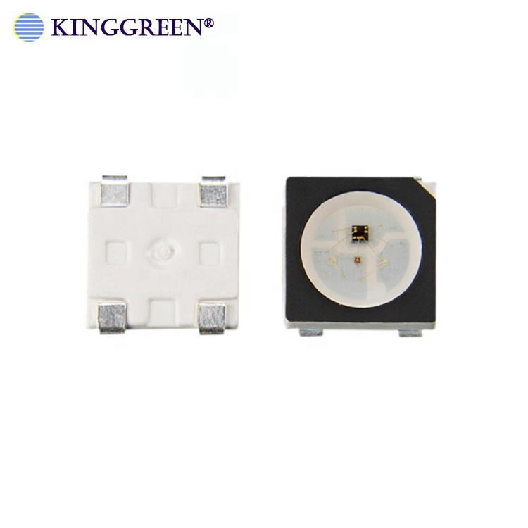 High Quality Addressable SK6812 Mini Full Color SMD 3535 RGB LED Chip With White And Black Face