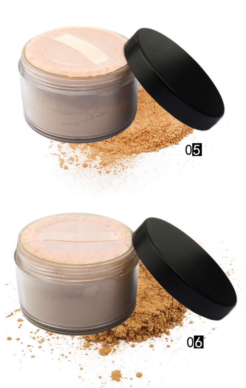 Wasserdichte Foundation Gesicht Professionelle Mineral Lose Pulver Highlighter Lose Pulver