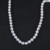 10-11mm white edison freshwater pearl strands