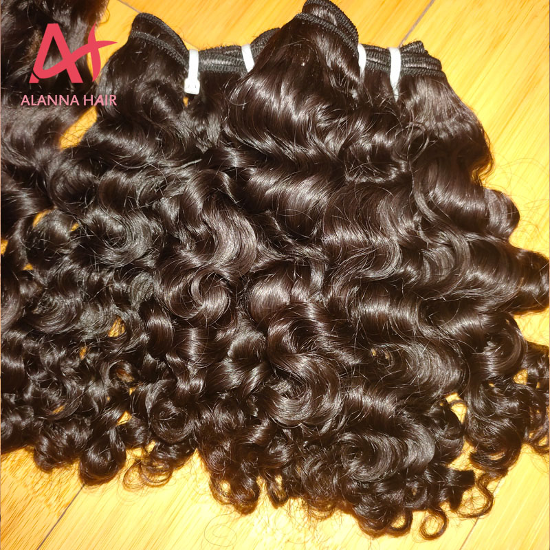 New Arrival Cambodian Loose Deep Wave Curly Pattern Hair Weave Bundles Top Grade 10A Cuticle Aligned Raw Cambodian Hair