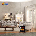 luxury three side metal indian fireplace free standing stove Antique electric fireplace cast iron prices