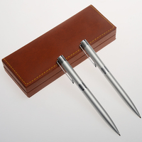 New High Quality Promotional Business Gift Set Luxury Pen Metal with Custom Logo