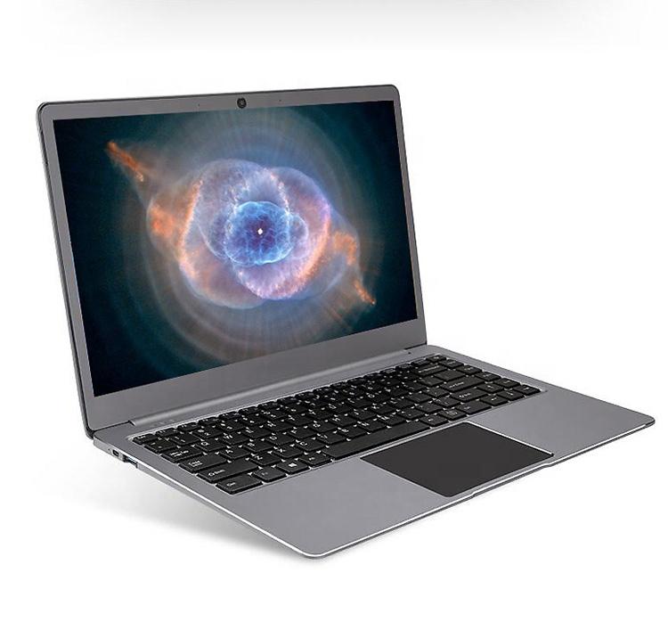 Baru Tiba 14.1 Inci Notebook Laptop dengan 8GB RAM 256GB SSD Makan Malam Tipis Tubuh Penuh Logam