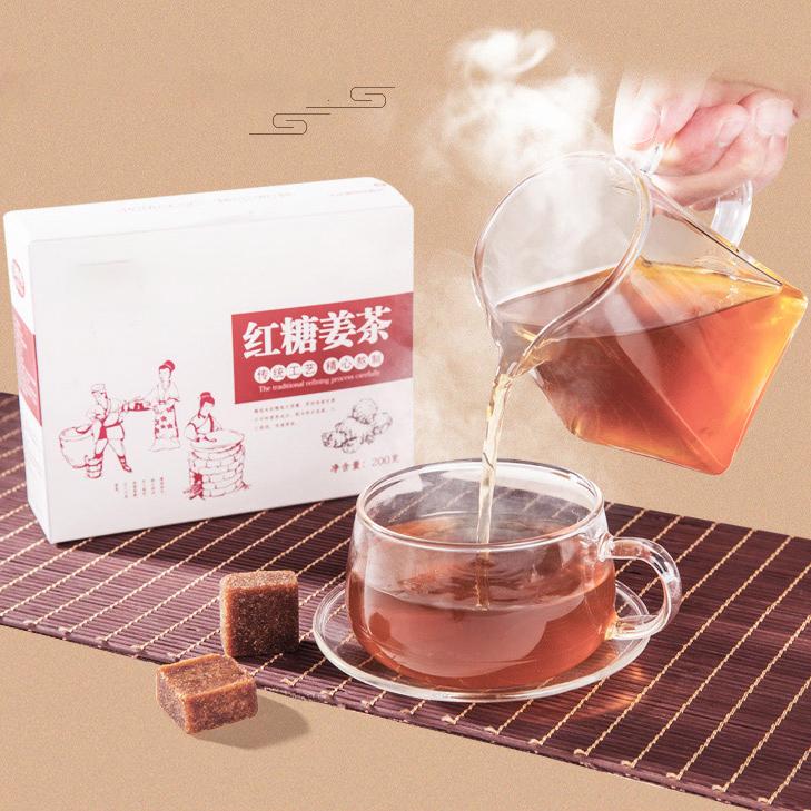 Chinese Super Instant Ginger Brown Sugar Tea - 4uTea | 4uTea.com