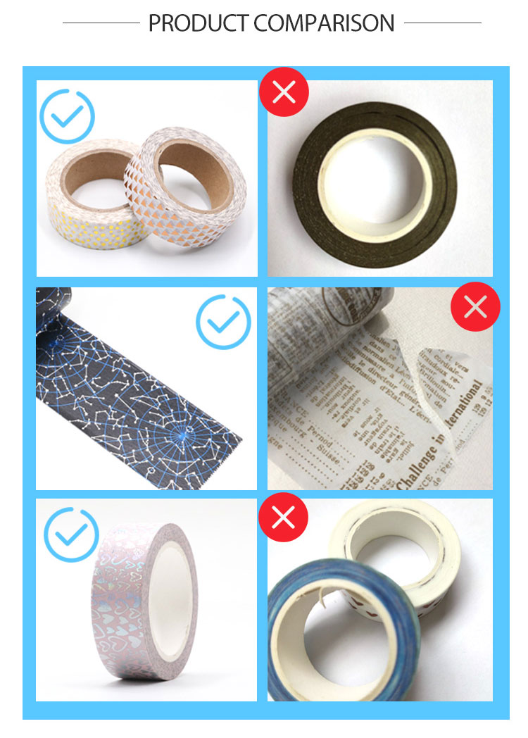 New trend product cartoon cute animal printnig washi tape