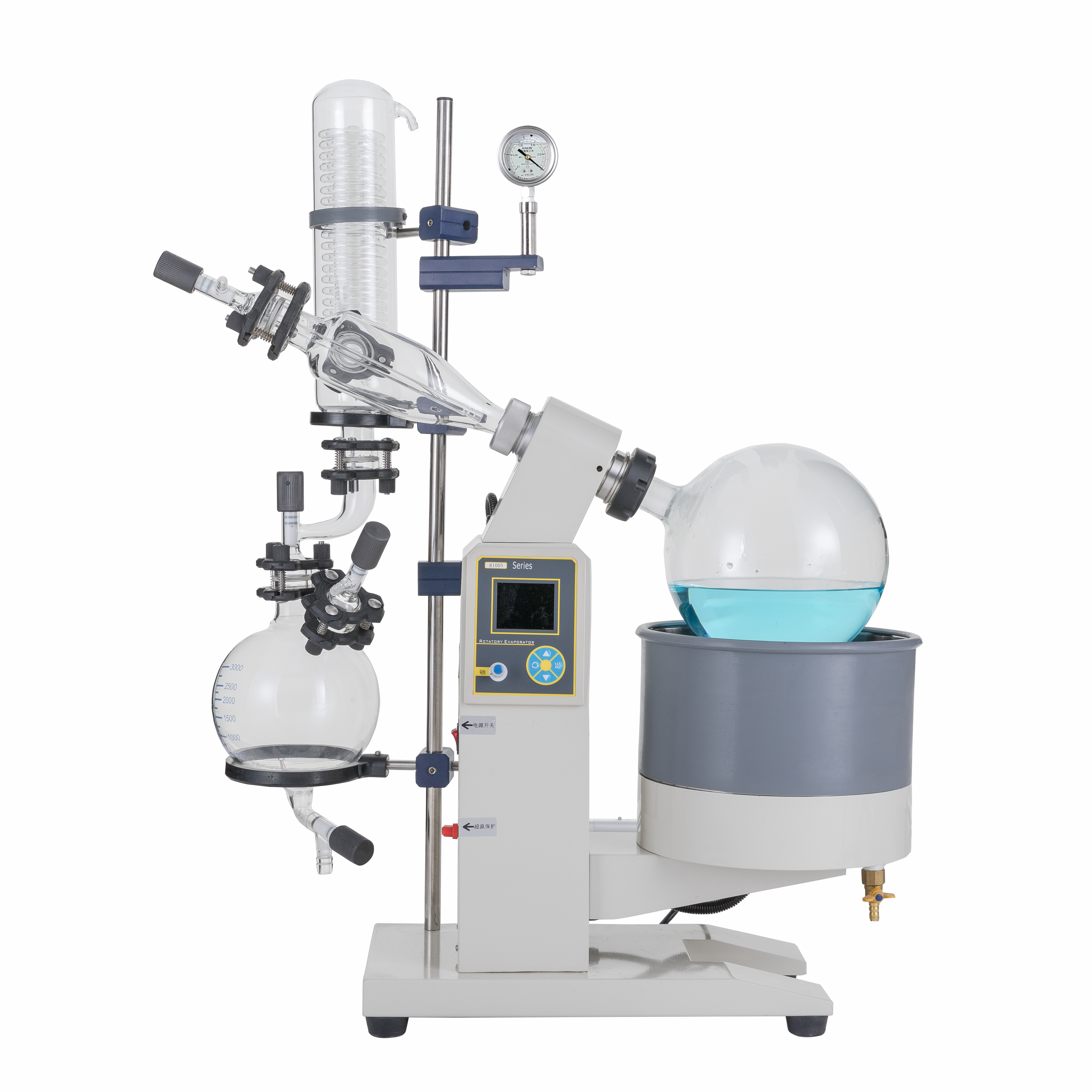 Pilot Scale Vacuum Distillation Essential Oil Distiller Cannabis Oil Extract 5L 10L 20L 50L Rotary Evaporator Hot Recommended