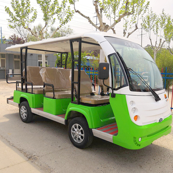 open Electric Mini right hand drive Sightseeing Bus car Tourism