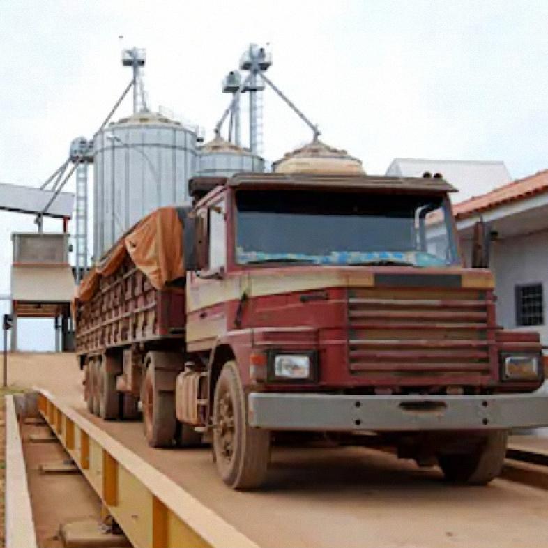 중국 공장 공급 60 톤 3M x 10M pitless 전자 계량 표시기 U 빔 트럭 규모 다리 판매