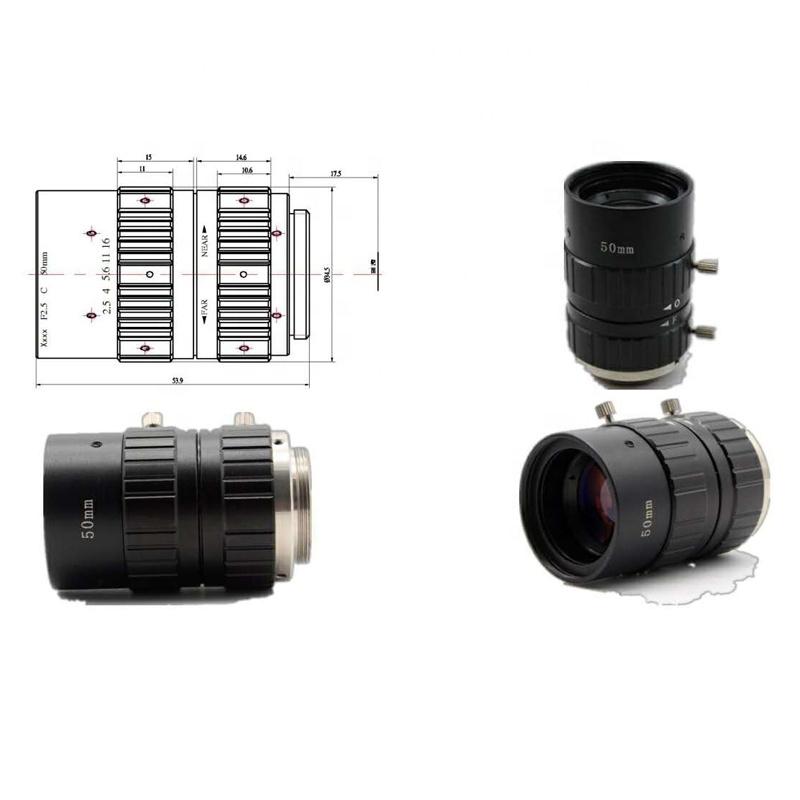 50mm Megapixel 5MP Lens CCTV Lens Surveillance Camera Lens