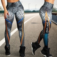 Custom Don't Stop Printing Yoga Pant Butt Lift Sublimation High Waist Work out Pants Yoga Leggings