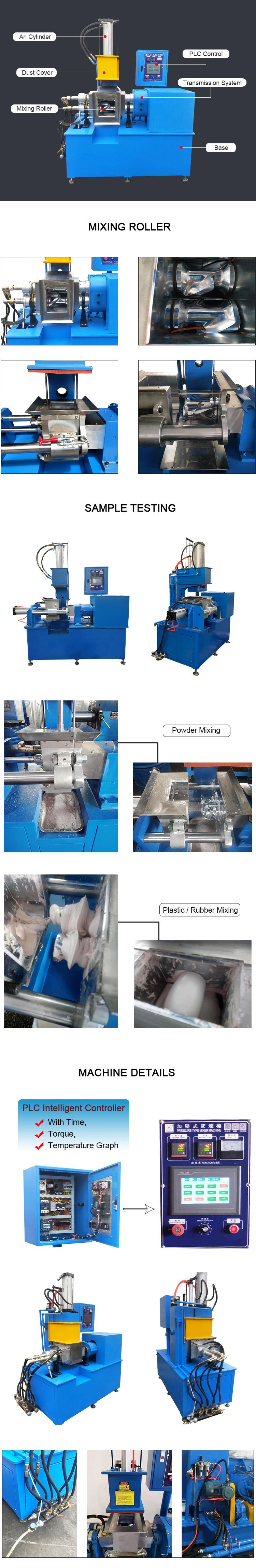 Lab Intermeshing Rubber Banbury Mixer Price