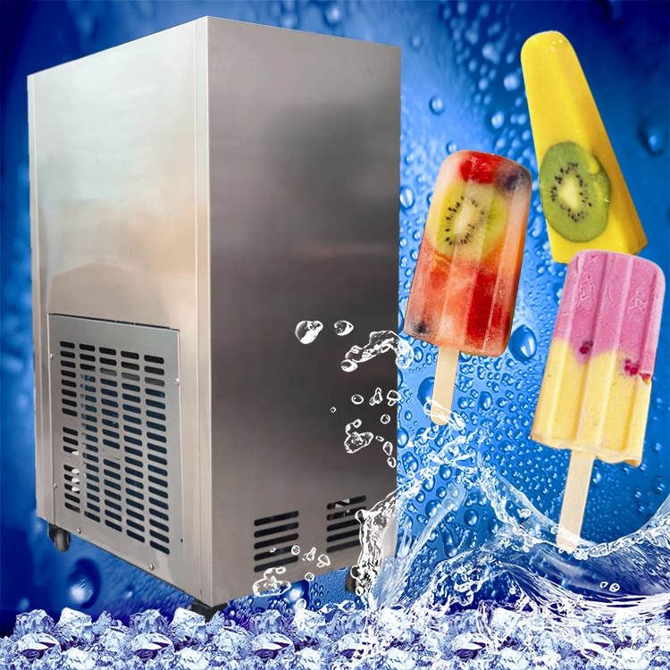 3000pcs/24h Commercial stainless steel Popsicle maker, Ice lolly machine  008613824555378
