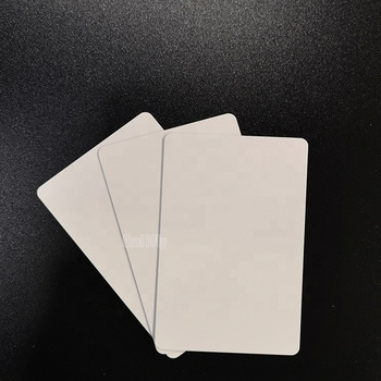 blank white plastic card 70*100 inkjet printable pvc card for EPSON R270 R280 R285 R290 R380