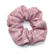 Новое поступление, женские клетчатые Галстуки для волос, держатель для конского хвоста, кольцо для волос, эластичные резинки, аксессуары дл...(Китай)