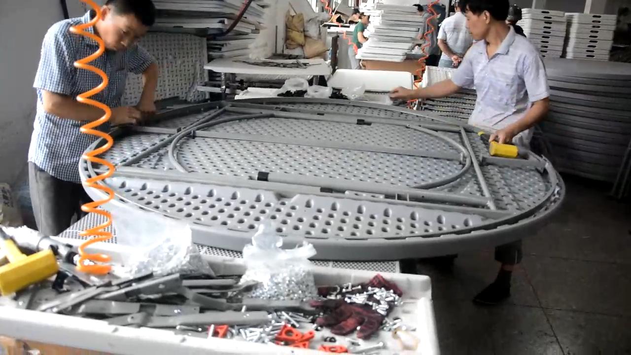 Набор настольных стульев для торжеств, Китай, пластиковые круглые складные обеденные стулья для кемпинга и пикника
