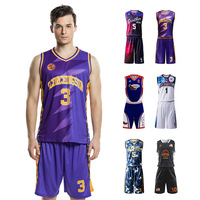 Custom Unique Design High End Quality Cheap Sublimation Quick Dry Basketball Jersey Uniform