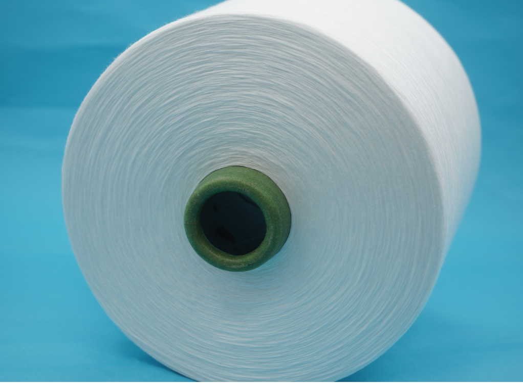 Recycled polyester yarn with GRS certificate and TC