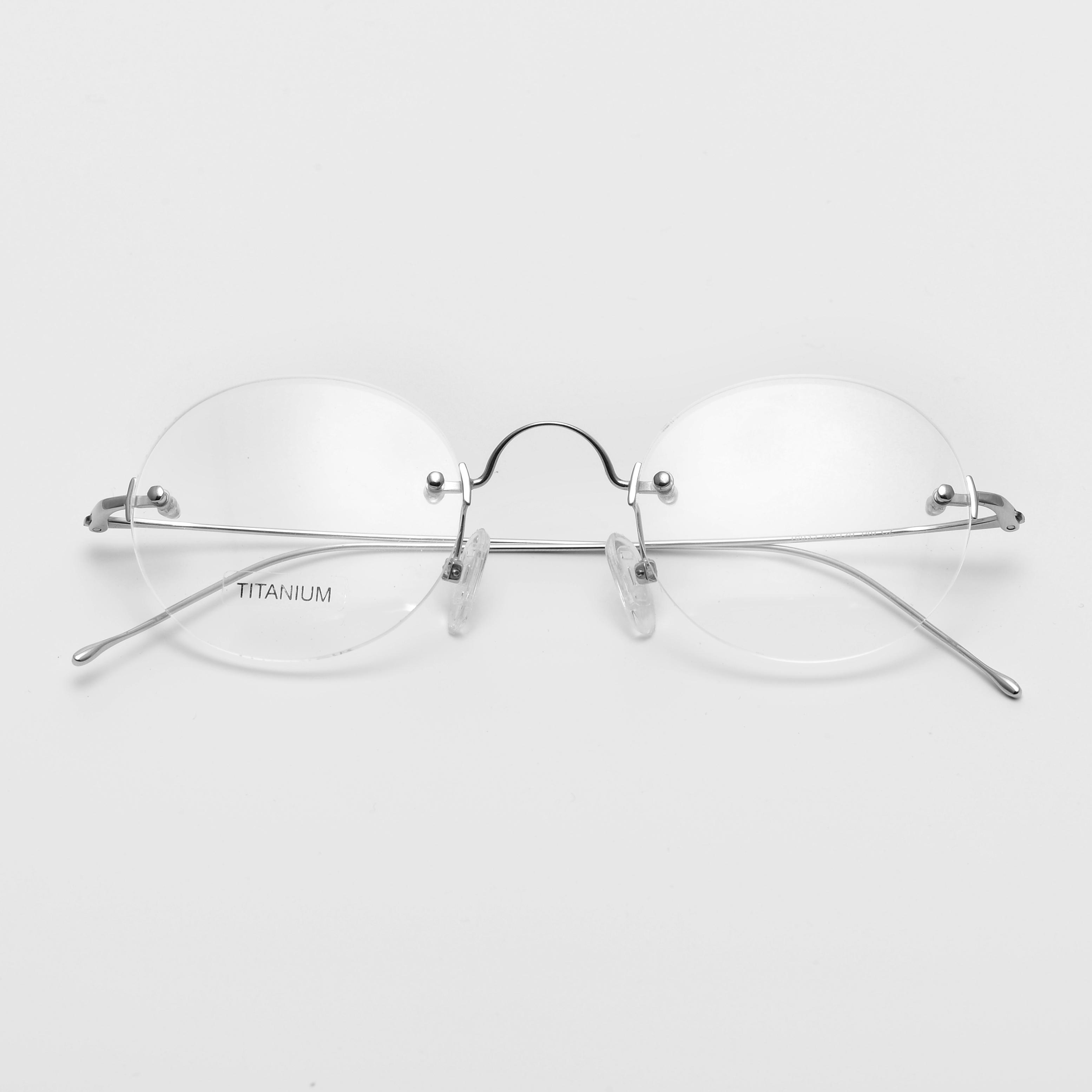 16035 Metal Titanium Stainless Steel Hot Sale Popular Eyewear Frames Glasses