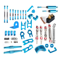 Wltoys 12428 12423 12429 RC Car Spare Parts Upgrade Metal Classis Rear Axle Arm Wavefront Box Gear etc. 12428 Parts Accessories