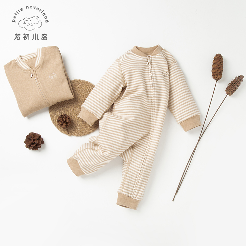 100% organic cotton no chemical dyeing plain <strong>baby</strong> knitted winter romper <strong>jumpsuit</strong>