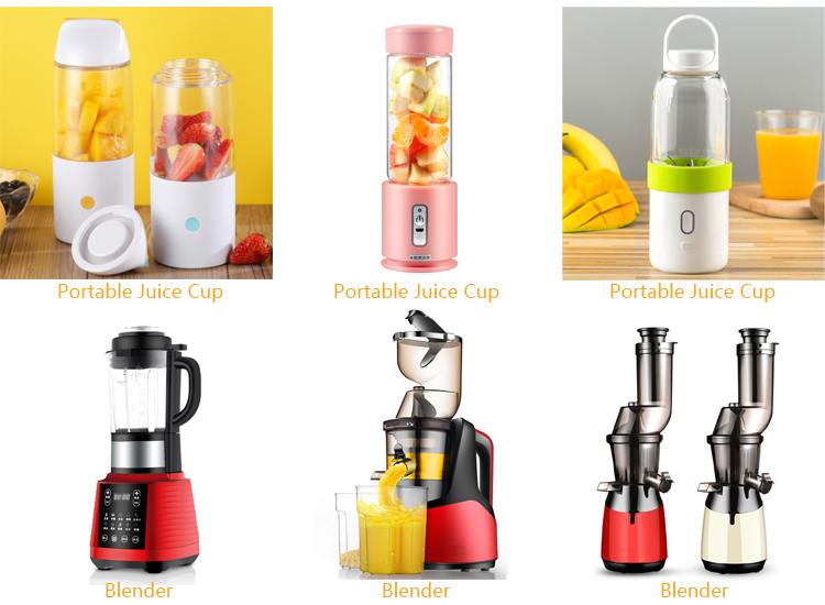 15 Years Factory Glass Bottle Usb Bingo Juicer Cup Mini Rechargeable Smoothie Blender Portable Blender Dropshipping