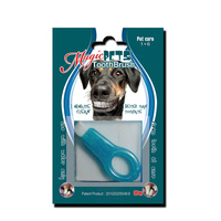 New Design Pet Toothbrush/Finger Toothbrush Disposable/dog pet products china best selling product dog teeth clean
