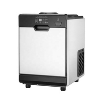 6kg countertop cube nugget ice maker water dispenser for coffee shops
