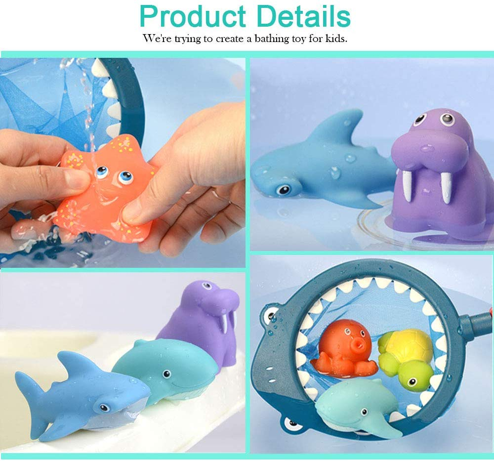 top selling baby floating squirt Bathtime Fun Learning Education Toys baby bath squirt toys