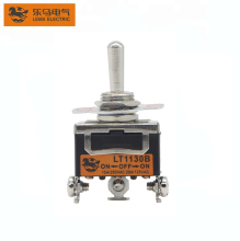 Factory Price LT1130B Screw Terminal Single Pole ON-OFF-ON Toggle Switch 5v