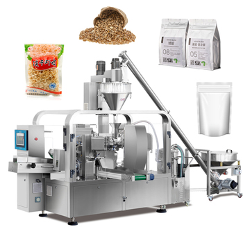 Automatic Sunflower Seeds Detergent Coffee Flour Honey Milk Powder Pouch Sealing Packing Machine Price