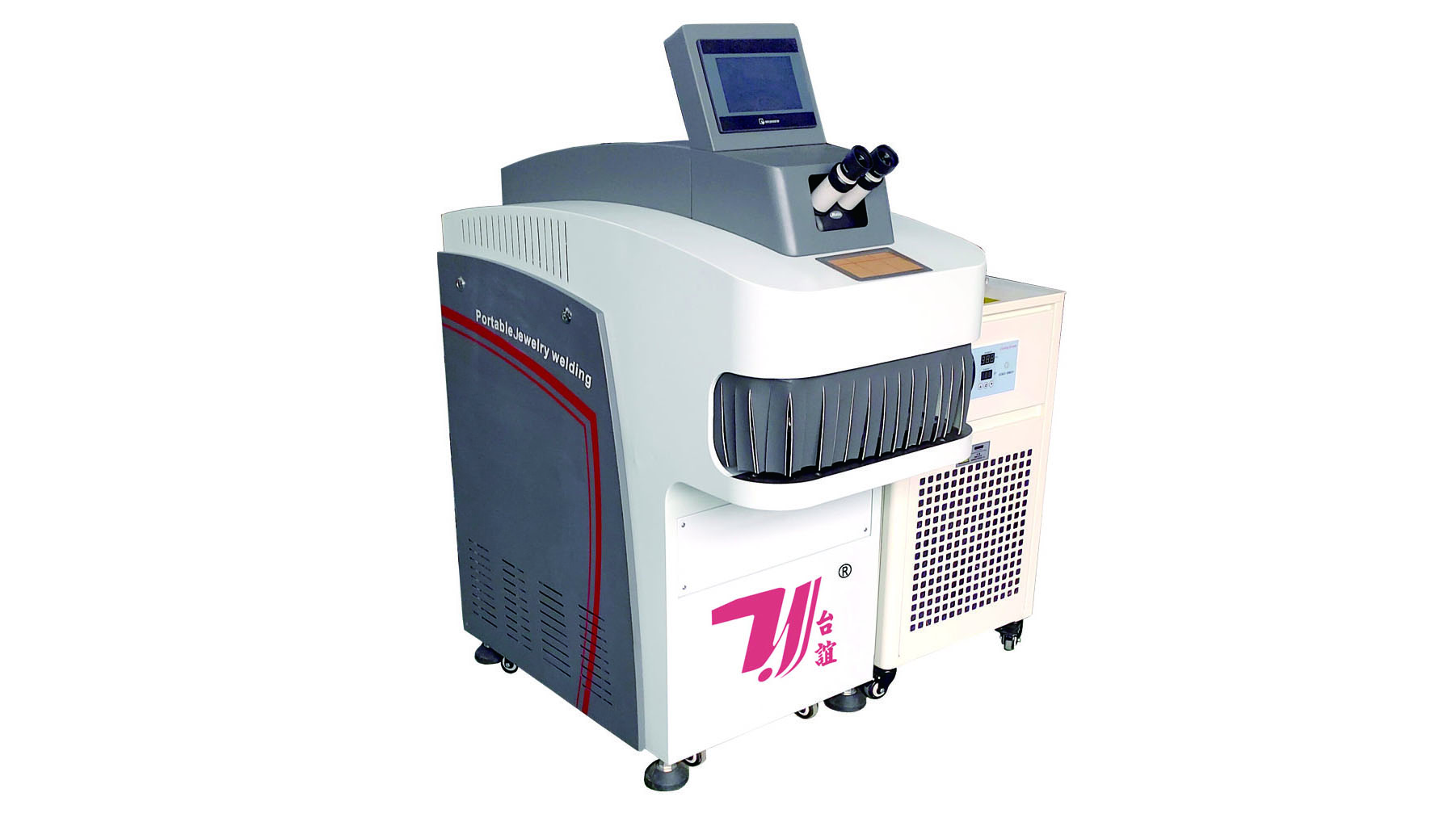 YAG 200W Laser Mould Welder Machine For Jewelry Mold Repairing