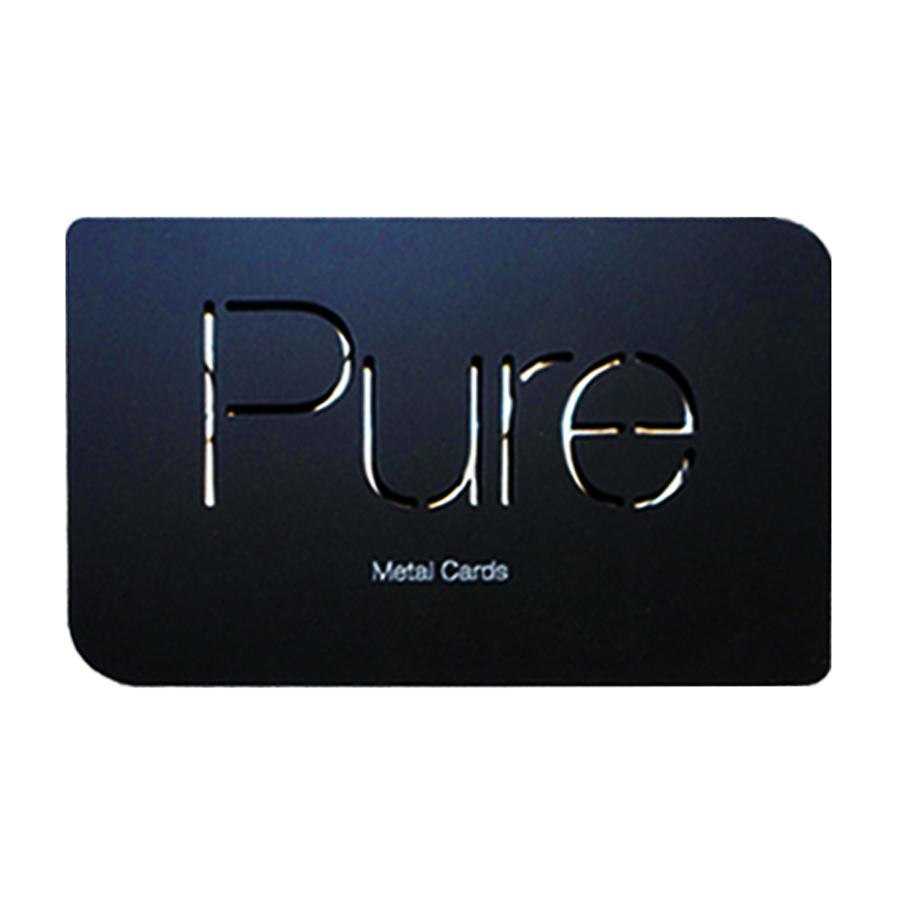 Original usine prix concurrentiel conception personnalisée pvc nom appelant carte carte de visite en métal