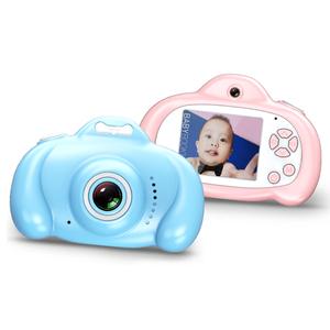 Free Shipping 1600W HD Mini Children Digital Toys Camera Cute Video Photo Camera for Kids